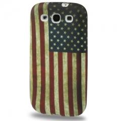 Чехол Американский флаг для Samsung Galaxy S3