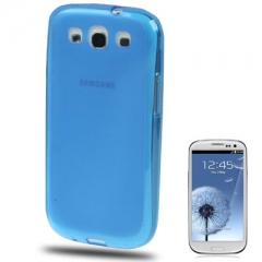 Силиконовый чехол для Samsung Galaxy S3 синий