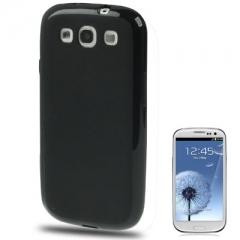 Силиконовый чехол для Samsung Galaxy S3 черный