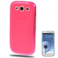 Силиконовый чехол для Samsung Galaxy S3 розовый