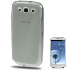 Силиконовый чехол для Samsung Galaxy S3 серый