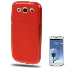 Силиконовый чехол для Samsung Galaxy S3 красный