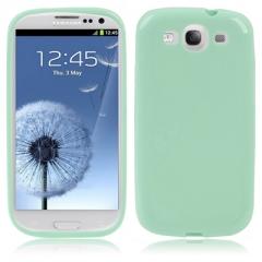 Чехол силиконовый для Samsung Galaxy S3 мятный