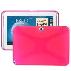Чехол силиконовый для Samsung Galaxy Note 10.1 розовый