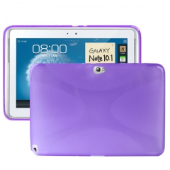 Чехол силиконовый для Samsung Galaxy Note 10.1 фиолетовый