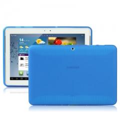Чехол силиконовый для Samsung Galaxy Tab 2 (10.1) синий