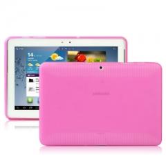 Чехол силиконовый для Samsung Galaxy Tab 2 (10.1) розовый
