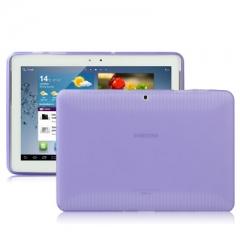 Чехол силиконовый для Samsung Galaxy Tab 2 (10.1) фиолетовый