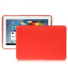 Чехол силиконовый для Samsung Galaxy Tab 2 (10.1) красный