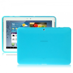Чехол силиконовый для Samsung Galaxy Tab 2 (10.1) голубой