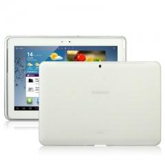 Чехол силиконовый для Samsung Galaxy Tab 2 (10.1) белый