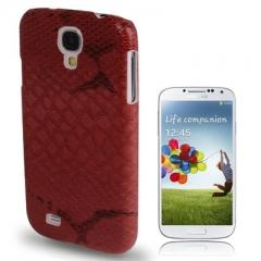 Чехол Змеиный красный для Samsung Galaxy S4