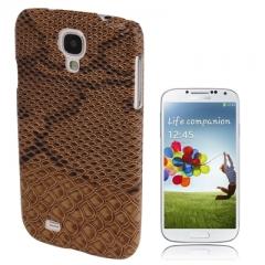 Чехол Змеиный для Samsung Galaxy S4 коричневый