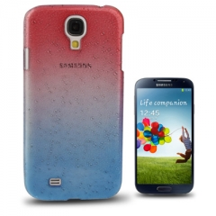 Чехол градиент для Samsung Galaxy S4 сине-красный