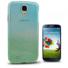Чехол градиент для Samsung Galaxy S4 зелено-голубой