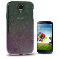 Чехол градиент для Samsung Galaxy S4 зелено-розовый