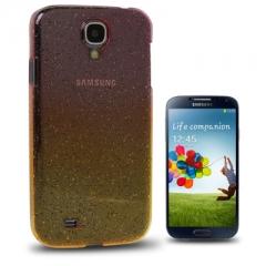 Чехол градиент для Samsung Galaxy S4 желто-розовый