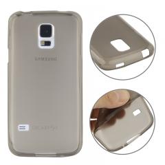 Чехол силиконовый для Samsung Galaxy S5 Mini серый