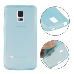 Чехол силиконовый для Samsung Galaxy S5 Mini голубой