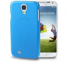 Чехол пластиковый для Samsung Galaxy S4 синий