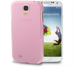Чехол пластиковый для Samsung Galaxy S4 розовый