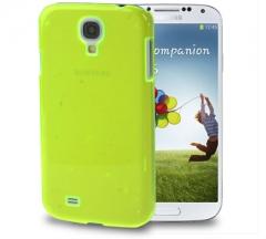 Чехол пластиковый для Samsung Galaxy S4 салатовый
