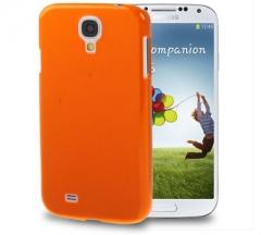 Чехол пластиковый для Samsung Galaxy S4 оранжевый