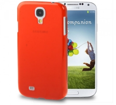 Чехол пластиковый для Samsung Galaxy S4 красный