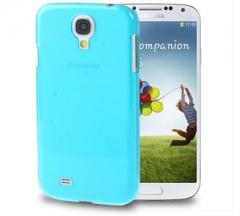 Чехол пластиковый для Samsung Galaxy S4 голубой