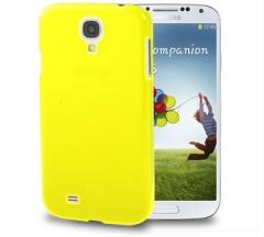 Чехол пластиковый для Samsung Galaxy S4 желтый