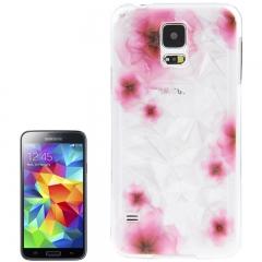 Чехол 3D для Samsung Galaxy S5 с цветами