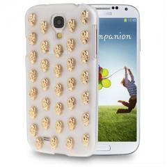 Чехол Череп для Samsung Galaxy S4 белый