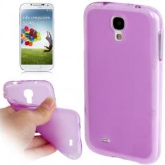 Силиконовый чехол для Samsung Galaxy S4 фиолетовый
