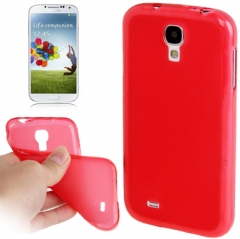 Силиконовый чехол для Samsung Galaxy S4 красный