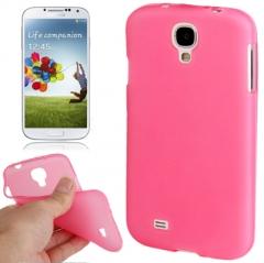 Силиконовый чехол для Samsung Galaxy S4 розовый