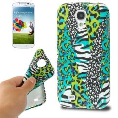 Чехол силиконовый зеленый для Samsung Galaxy S4