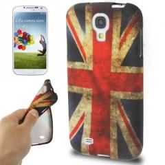 Чехол силиконовый для Samsung Galaxy S4 Британский флаг