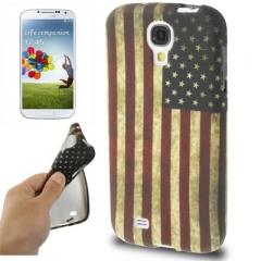 Чехол силиконовый для Samsung Galaxy S4 Американский флаг