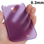 Ультратонкий чехол для Samsung Galaxy S4 фиолетовый