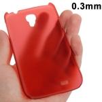 Ультратонкий чехол для Samsung Galaxy S4 красный