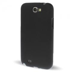 Силиконовый чехол для Samsung Galaxy Note 2 черный