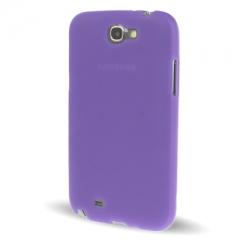 Чехол силиконовый для Samsung Galaxy Note 2 фиолетовый