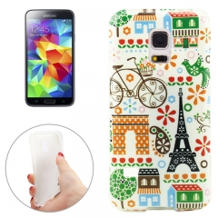 Чехол для Samsung Galaxy S5 Mini Париж