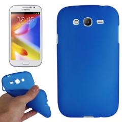 Силиконовый чехол для Galaxy Grand Duos синий