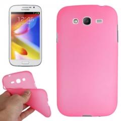 Силиконовый чехол для Galaxy Grand Duos розовый
