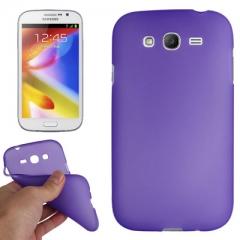 Силиконовый чехол для Galaxy Grand Duos фиолетовый
