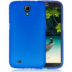 Чехол силиконовый для Samsung Galaxy Mega 6.3 синий