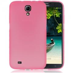 Чехол силиконовый для Samsung Galaxy Mega 6.3 розовый