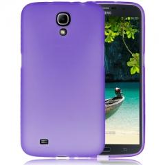 Чехол силиконовый для Samsung Galaxy Mega 6.3 фиолетовый