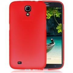 Чехол силиконовый для Samsung Galaxy Mega 6.3 красный